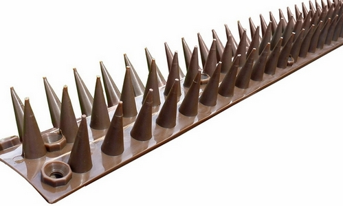 Fence And Wall Spikes 5 Metre Pack (brown)