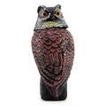 PestExpel® Realistic Owl Wind Action Fake Owl Decoy Crow Scarer