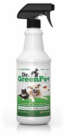 Dr. GreenPet All Natural Flea and Tick Spray 0.9L